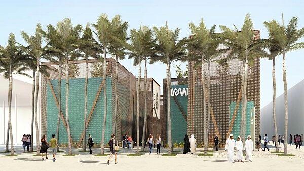 اولین تصاویر اختصاصی از مراحل ساخت پاویون ایران در اکسپو دوبی