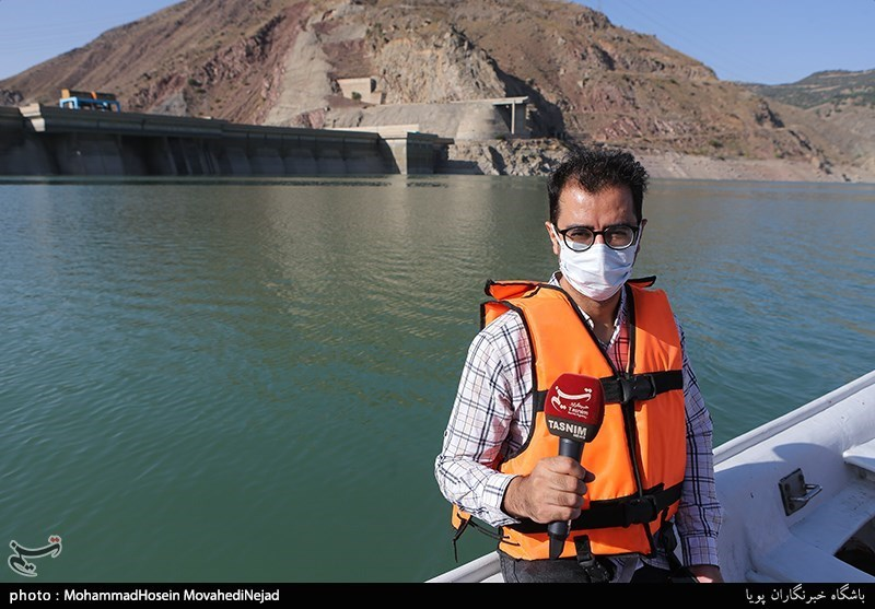 ۶۰ درصد مخزن سد لتیان خالی است / احتمال بروز مشکلات اساسی در تأمین آب تهران + فیلم